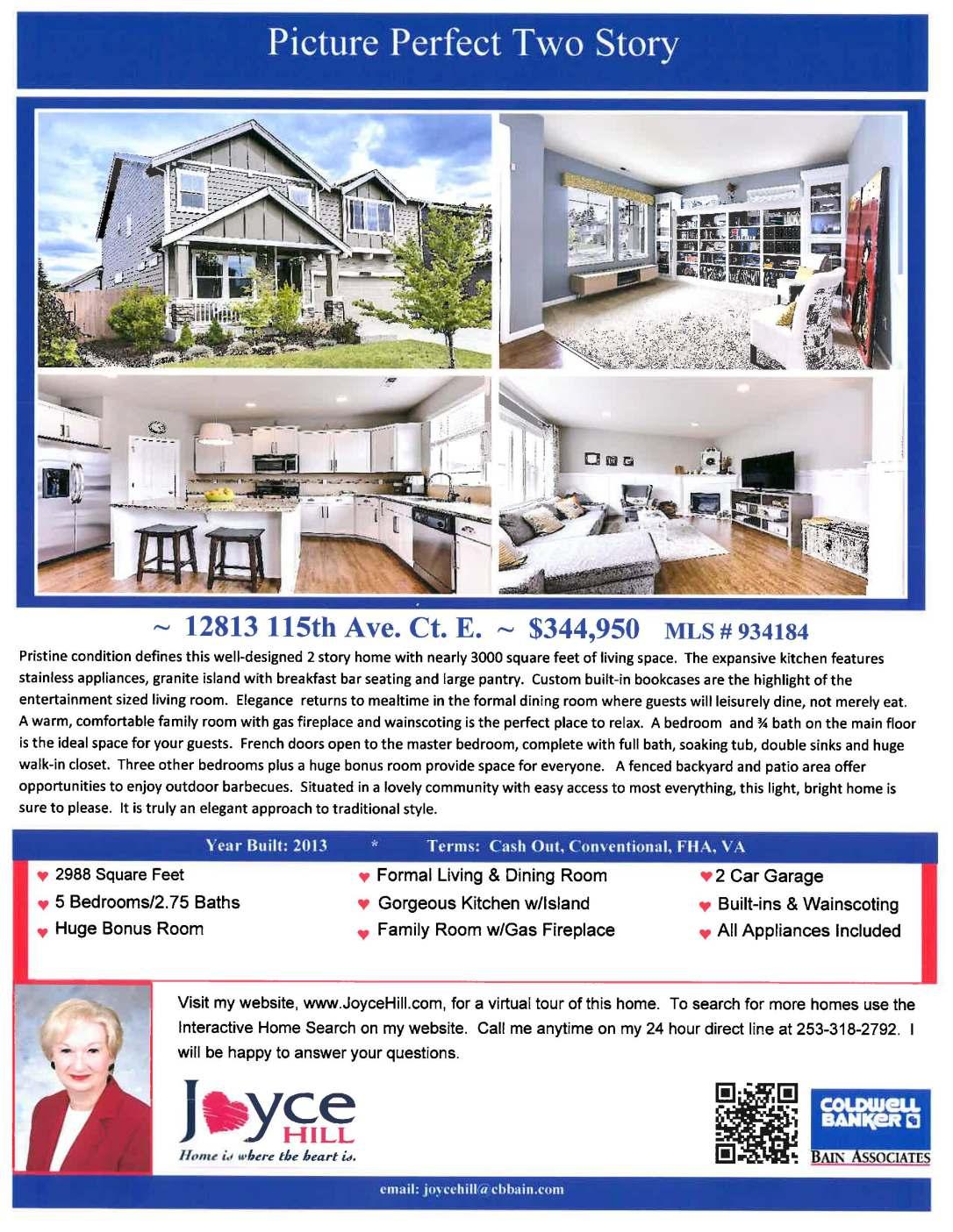 12813 115th Ave Ct. E Puyallup WA